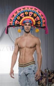 Aligimiro Palencia head dress