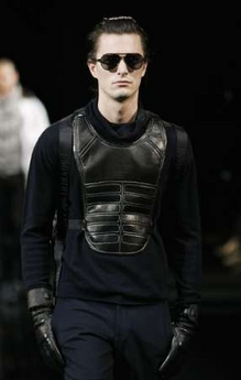 Armani breastplate