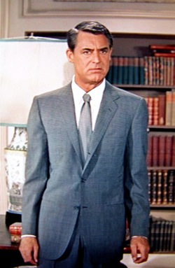 Cary Grant Suited Up