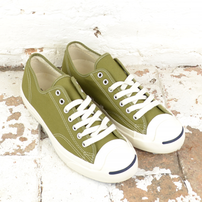 Converse All Stars in Olive Drab