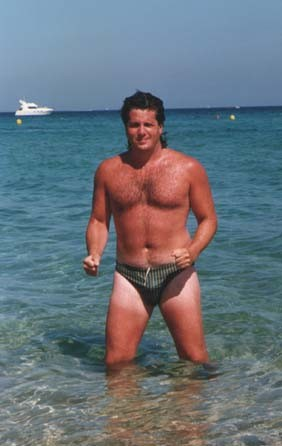 Donny Deutsch in Speedo