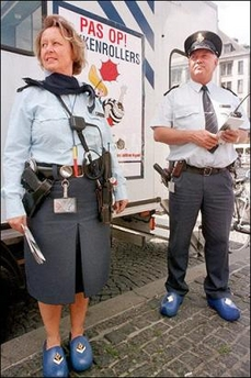 Dutch Police Clogs