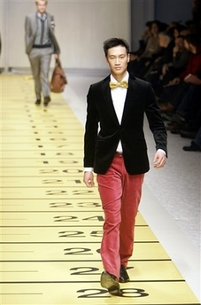 Etro Nantucket red cords