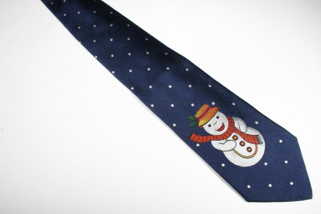 Etro snowman tie