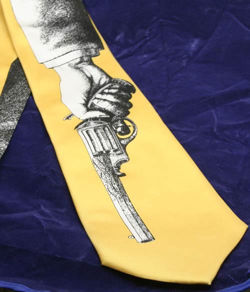Fornasetti gun tie