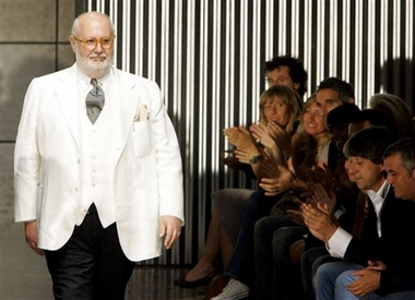 Gianfranco Ferre in white