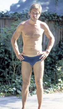 Harrison Ford in Speedo