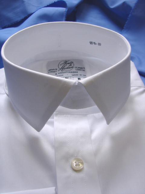 Harvie & Hudson stiff collar
