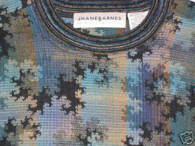 Jhane Barnes fractal sweater