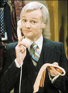 John Inman as Mr. Humphries