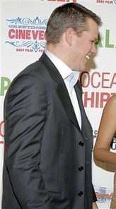 Matt Damon in high collar