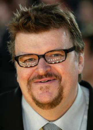 Michael Moore with Goatee