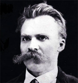 Nietzsche's moustache