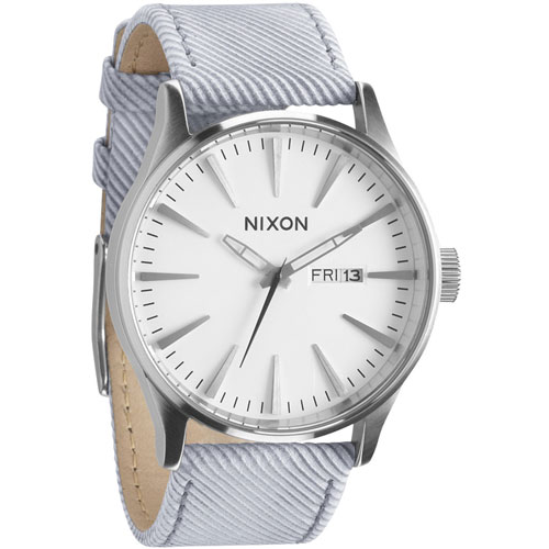 Nixon Pinstripe Time Teller