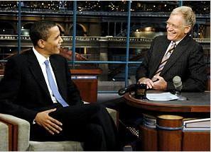 Obama in black suit