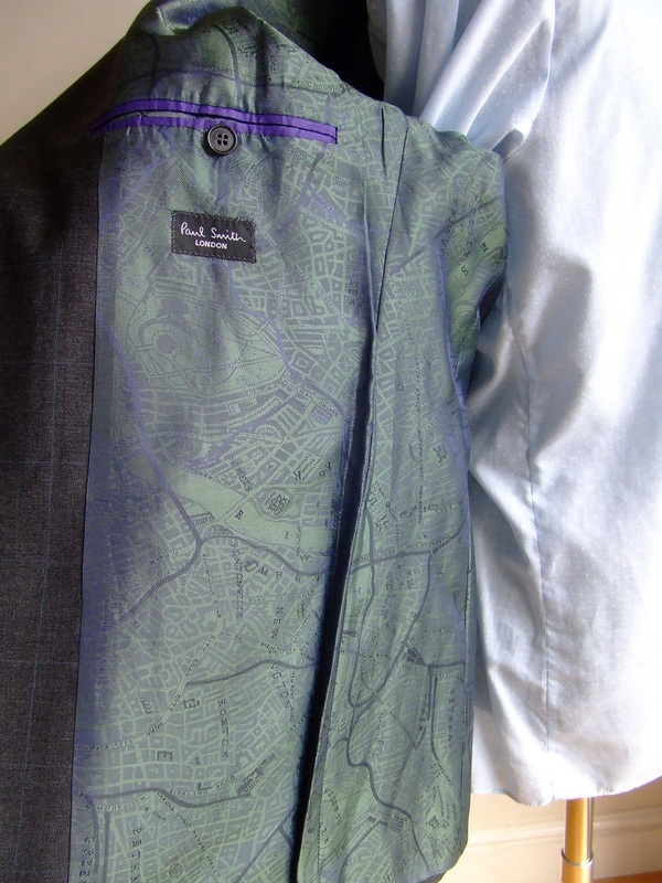 Paul Smith jacket with London lining