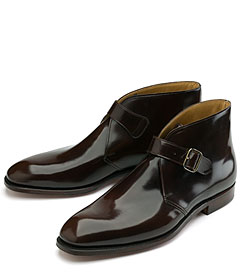 Peal & Co Monk Strap Boots