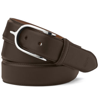 Ralph Lauren nickel spur belt