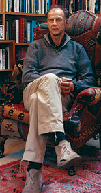 Ranulph Fiennes at home