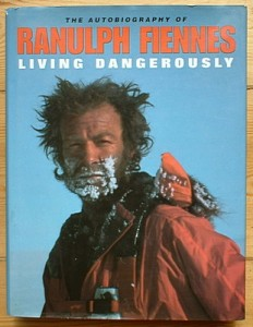 Ranulph Fiennes book cover