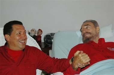 Castro in Red