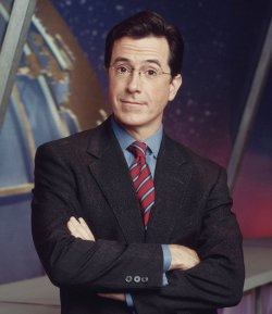 Stephen Colbert in Brooks Brothers