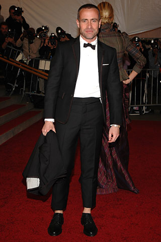 Thom Browne in tux