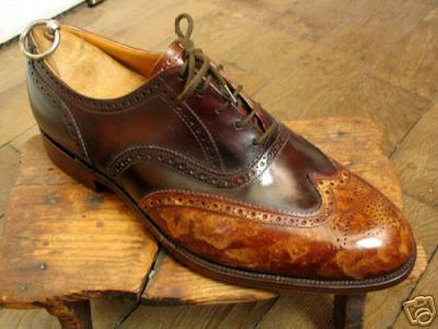 Trickers with patina