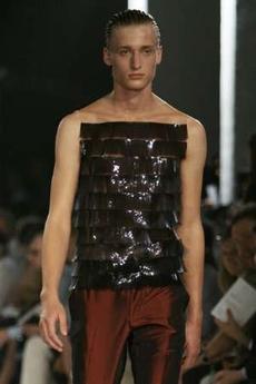 Alexander McQueen tape shirt