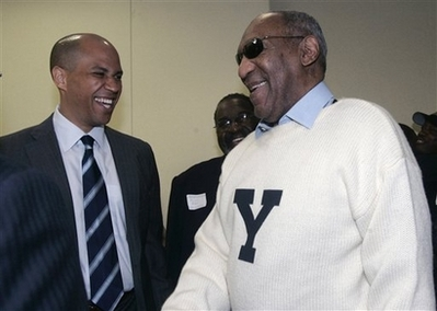Bill Cosby in Yale sweater