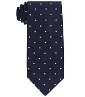 Brooks Brothers silk repp dot tie
