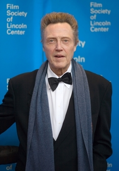 Christopher Walken in askew bow tie