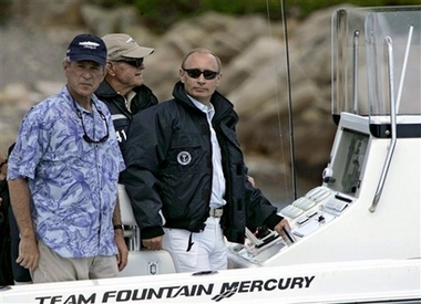 Bush and Putin gone fishin'