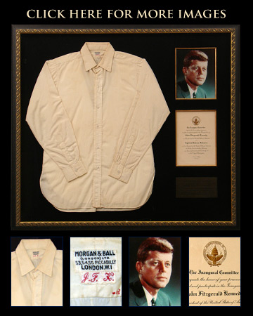 JFK inauguration shirt