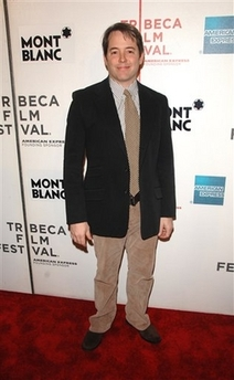 Matthew Broderick all washed up