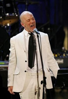 Michael Stipe in white