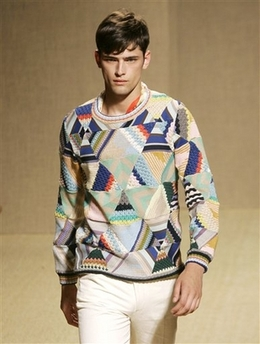 Missoni hexagon sweater