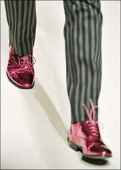 Moschino ruby oxfords