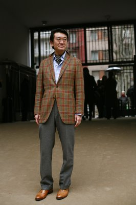 odd plaid jacket