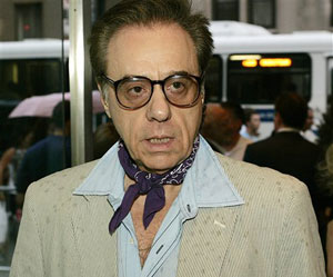 Peter Bogdanovich with bandanna