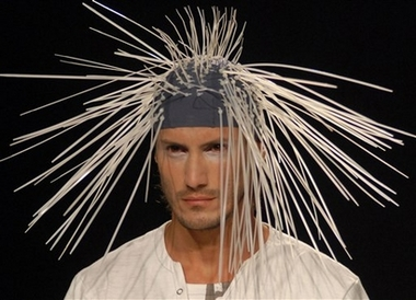 porcupine headgear