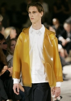 Prada latex jacket