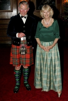 Prince Charles in kilt