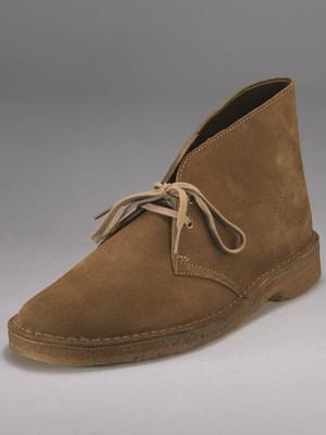 Clarks Originals Mens Suede Desert Boots