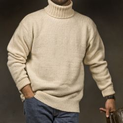 RAF, submarine turtleneck sweater
