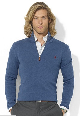 Ralph Lauren Mock Pullover