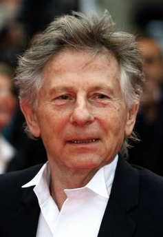 Roman Polanski in wing collar