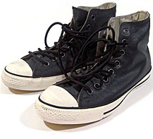 rubberized Converse Chuck Taylors