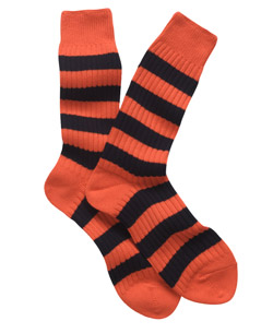 schoolboy socks orange