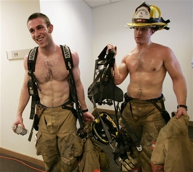 strapping young firefighters